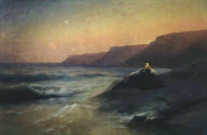 Картина Пушкин на берегу Чёрного моря