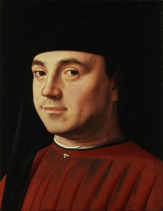 Антонелло да Мессина Мужской портрет