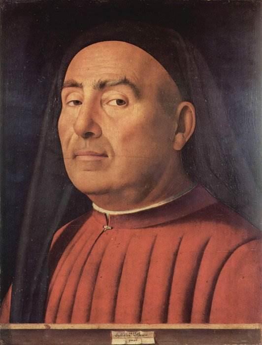 Антонелло да Мессина - Портрет старика