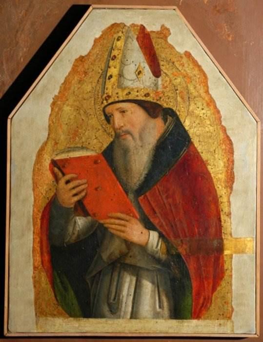 Антонелло да Мессина - Святой Августин