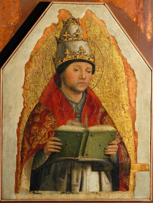Антонелло да Мессина - Григорий Великий