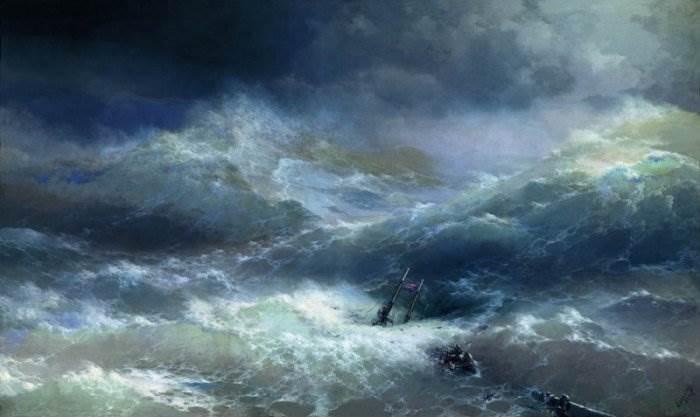 Айвазовский - Волна