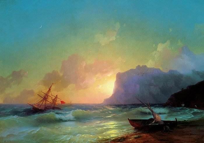 Айвазовский - Море. Коктебель