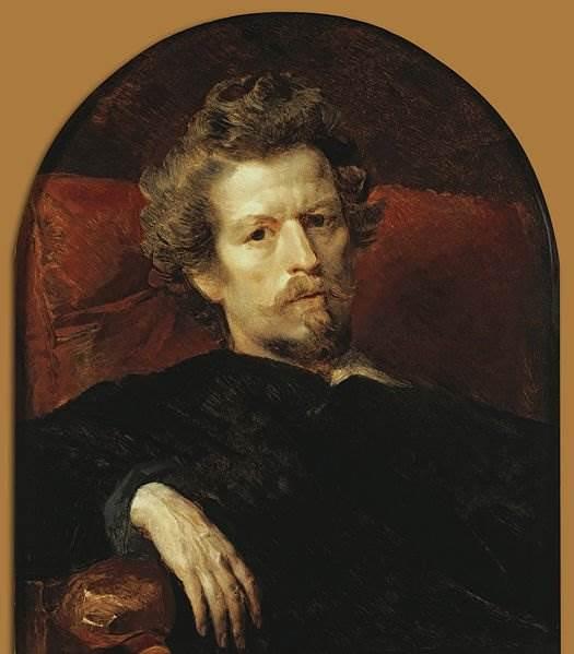 Автопортрет 1848 Брюллов