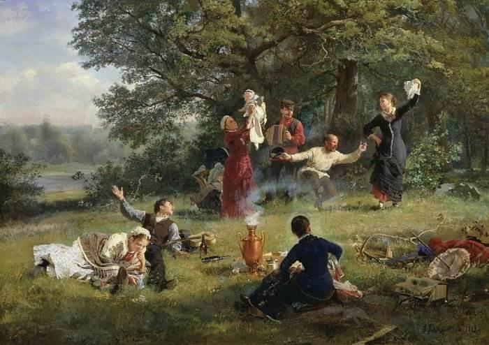 Воскресный день - Корзухин