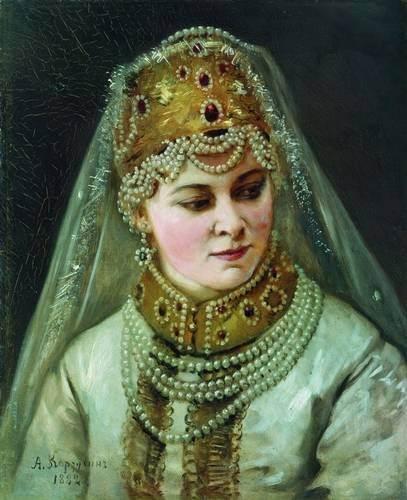 Корзухин - Боярышня