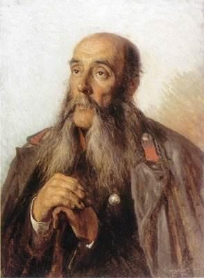 Корзухин - Портрет отставного солдата