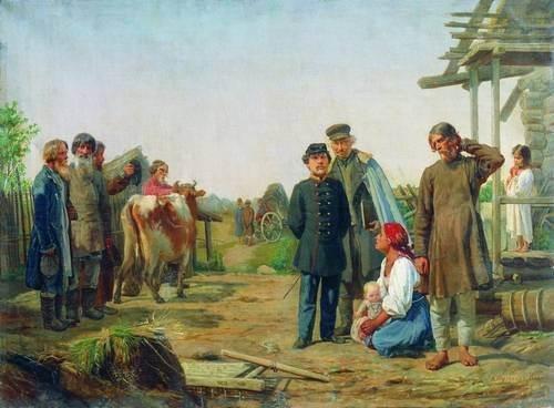 Корзухин - Сбор недоимок