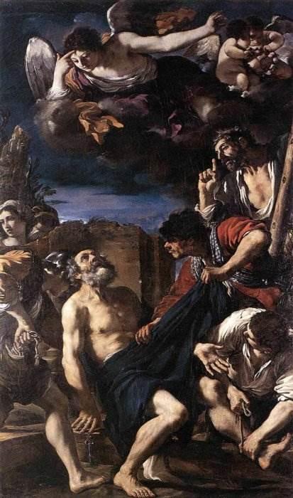 Гверчино - Мученичество Святого Петра