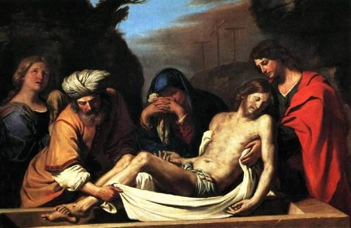 Гверчино - Погребение Христа