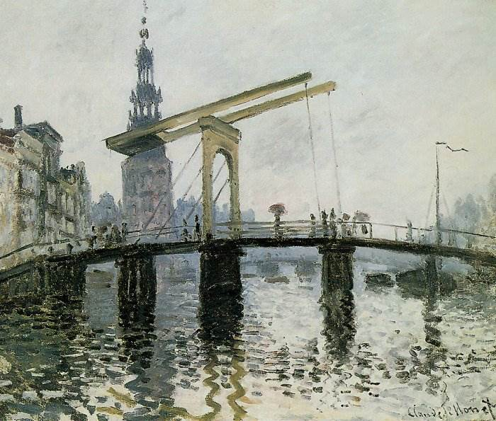Моне - Мост, Амстердам