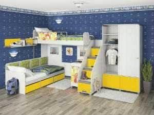 Детскую комнату можно сделать ярче с помощью постельного белья
