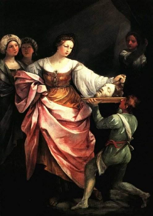 Гвидо Рени - Саломея с головой святого Иоанна Крестителя