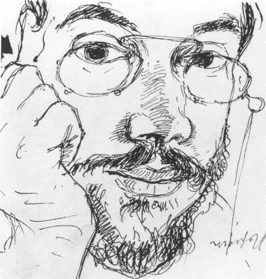 Александр Бенуа - Автопортрет