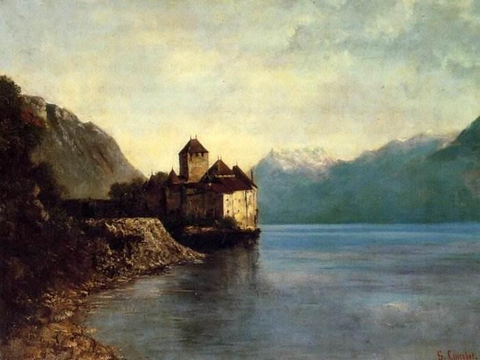 Гюстав Курбе - Шильонский замок