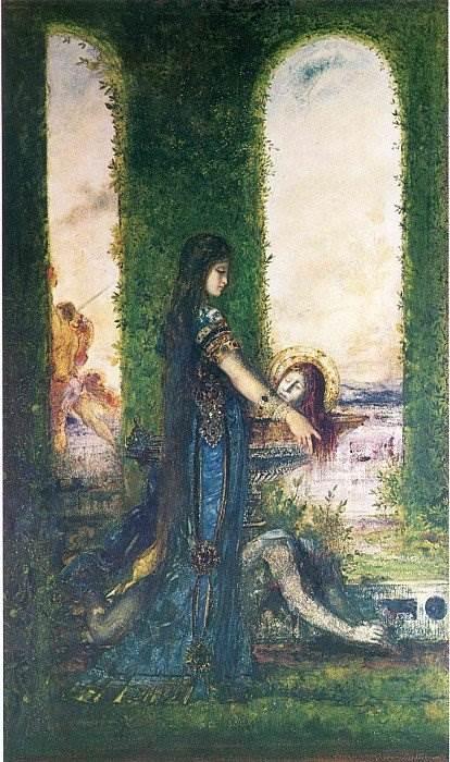 Гюстав Моро - Саломея с головой Иоанна Крестителя