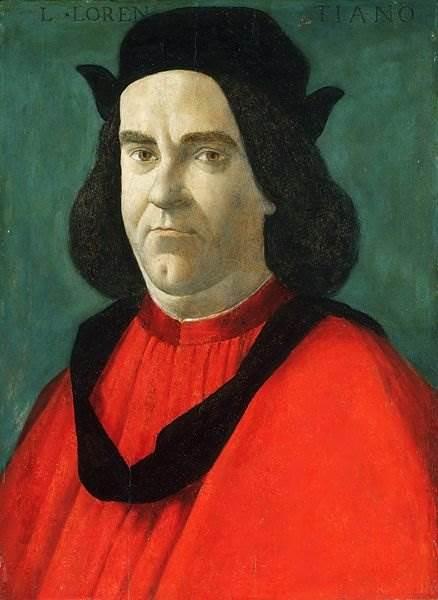 Боттичелли - Портрет Лоренцо ди Сер Пьеро Лоренци