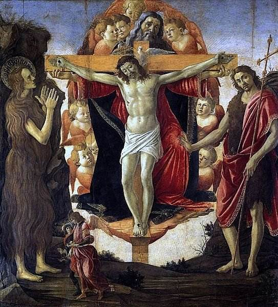 Боттичелли - Святая Троица