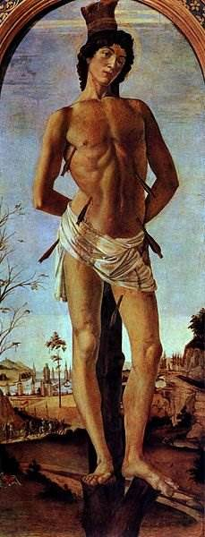 Боттичелли - Святой Себастьян