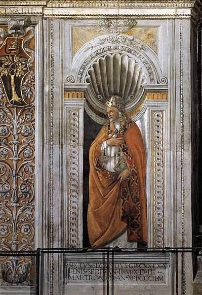 Боттичелли - Святой Сикст II