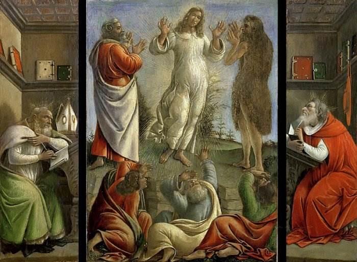 Боттичелли - Преображение Господне