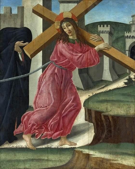 Боттичелли - Христос, несущий крест
