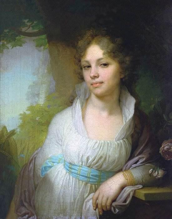 Портрет М. И. Лопухиной