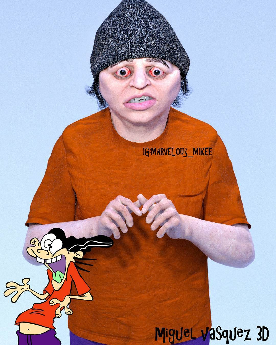 Девушка с жемчужной сережкой пародия на шедевр от Бэнкси