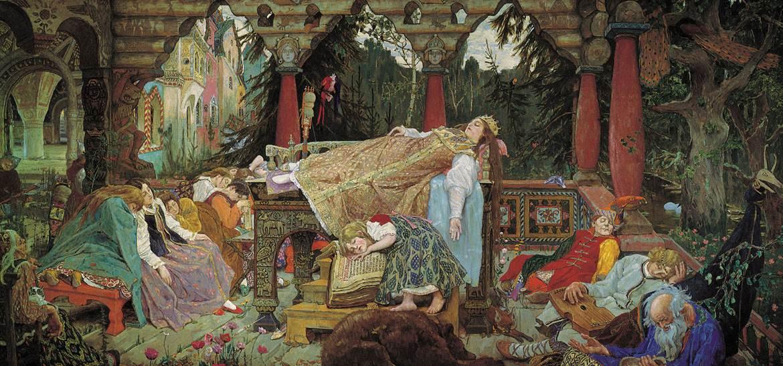 Спящая царевна. Васнецов