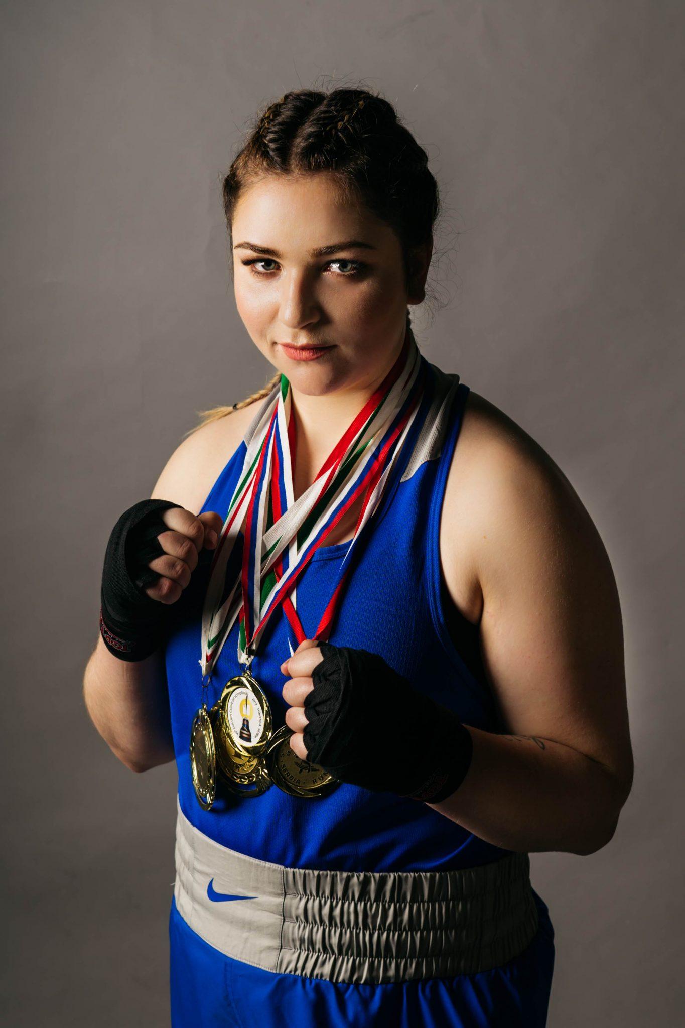 Российские девушки боксёры