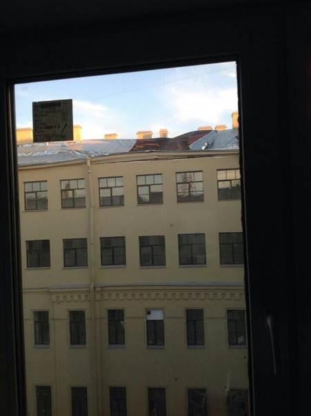 Обрушение крыши в петербургском университете ИТМО