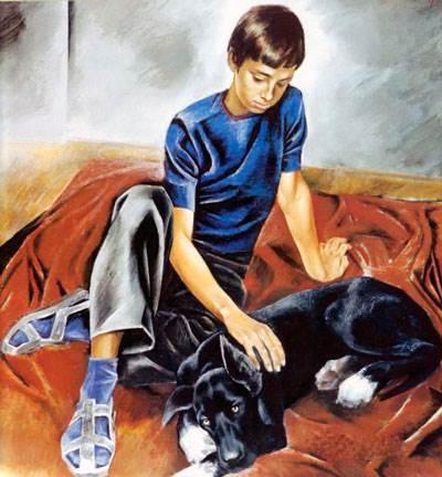Е. Н. Широков «Друзья» описание картины