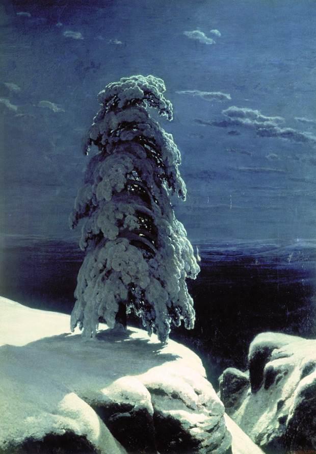 И. И. Шишкин «На севере диком…» история картины