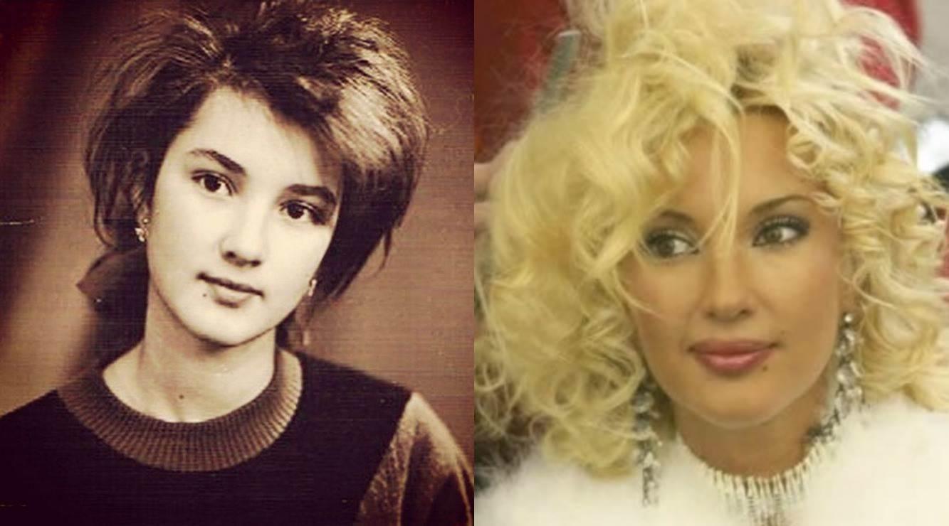 Как в молодости выглядела Лера Кудрявцева