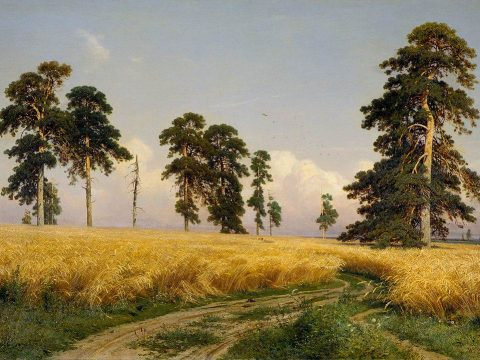 И. И. Шишкин картина Рожь