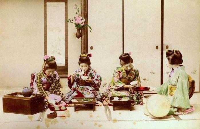 Фото древней Японии