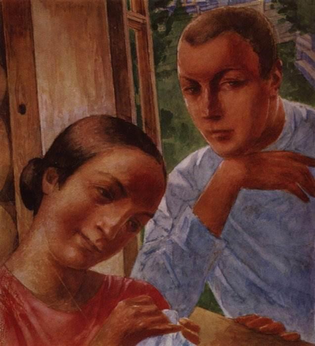 Петров-Водкин картины. Великий русский художник