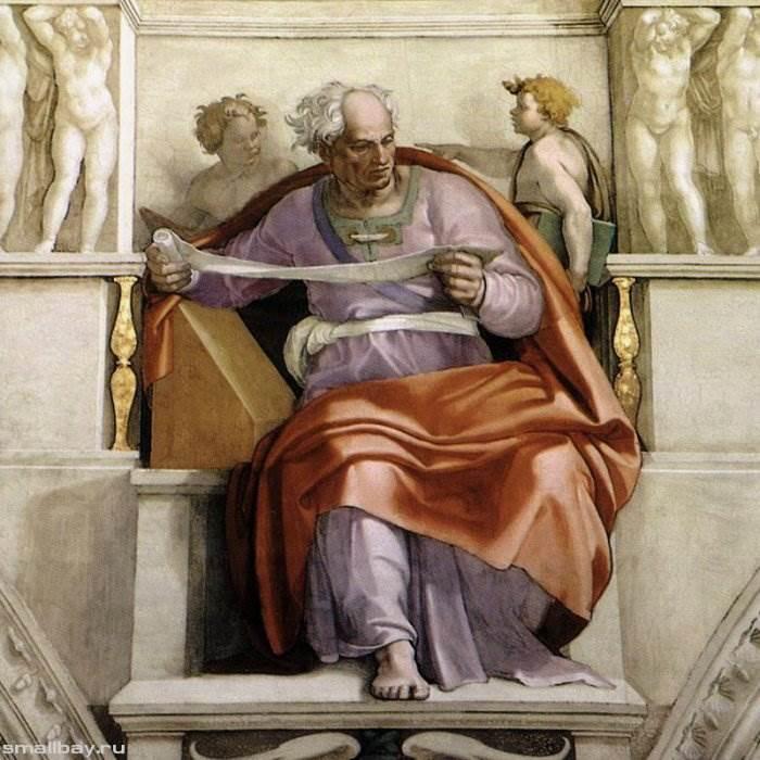 Работы Микеланджело. Великий итальянский художник