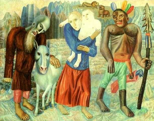 Картины Филонова