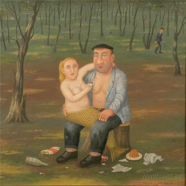 Владимир Любаров русский художник