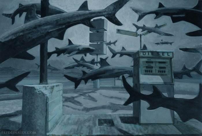 Fred Einaudi постапокалиптический мрак