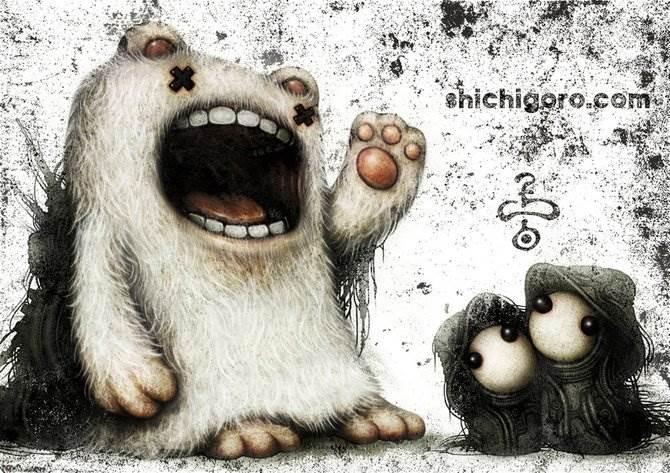 Shingo Matsunuma механические миры