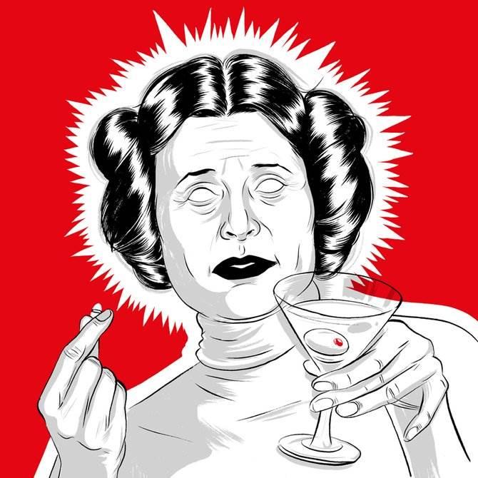 Alex Fine (художники США) векторные шаржи