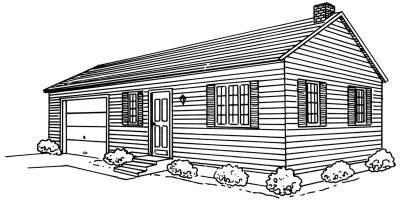 Как рисовать дома