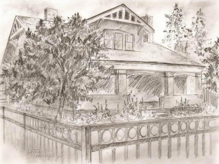Как рисовать крыши