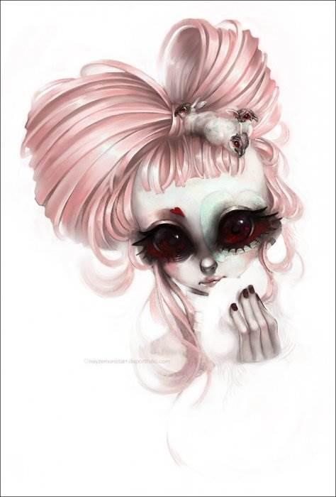 Valerie Bastille французский художник-иллюстратор