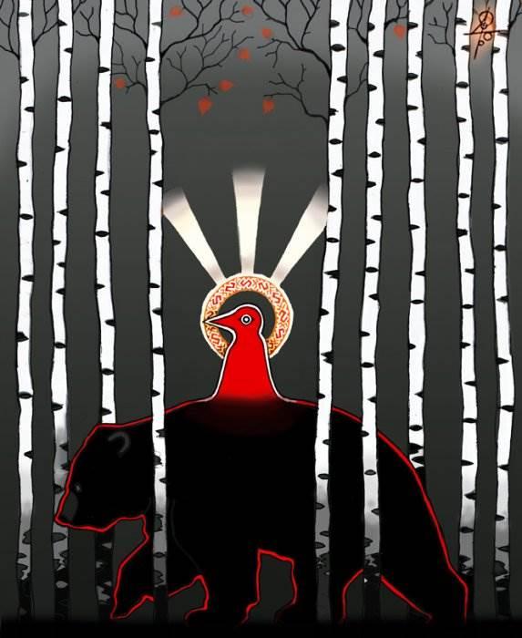 Этнопримитивизм художника-славяниста Максима Сухарева