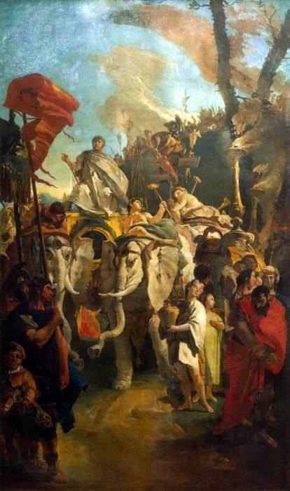 Триумф полководца Мания Курия Дентата