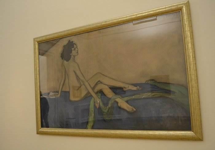 Русский музей в Санкт-Петербурге. Картины В.А.Серова