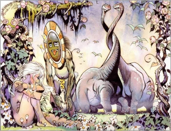 Arthur Suydam фэнтези художник, иллюстратор комиксов